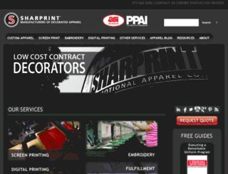 info.sharprint.com screenshot