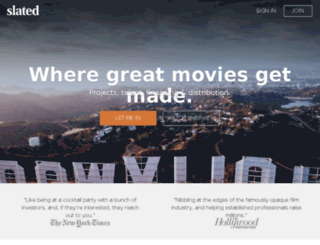 info.slated.com screenshot