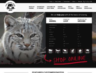 info.snareshop.com screenshot