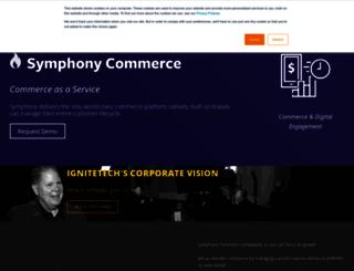 info.symphonycommerce.com screenshot
