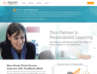 info.tenmarks.com screenshot