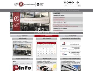 info.unlp.edu.ar screenshot