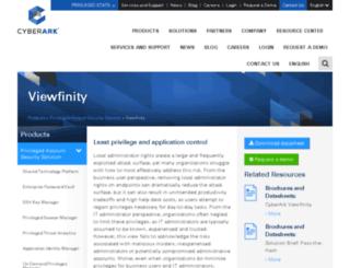info.viewfinity.com screenshot