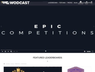 info.wodcast.com screenshot