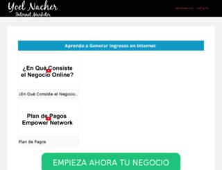 info.yoelnacher.com screenshot
