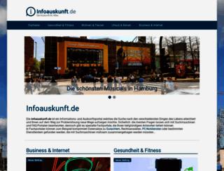 infoauskunft.de screenshot