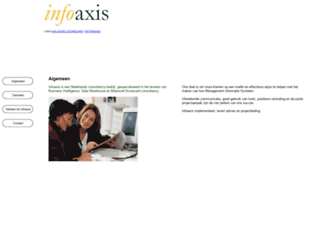 infoaxis.nl screenshot