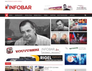 infobar.ba screenshot