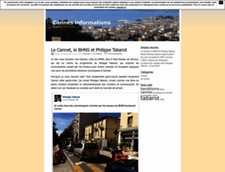 infocannes.unblog.fr screenshot