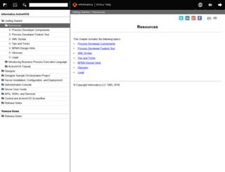 infocenter.activevos.com screenshot