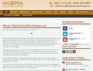 infocenter.nigeriagoldexchange.ng screenshot