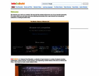 infocobuild.com screenshot