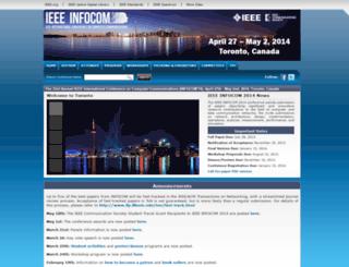 infocom2014.ieee-infocom.org screenshot