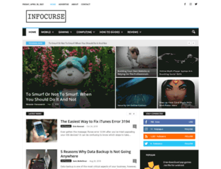infocurse.com screenshot