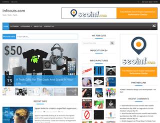 infocuts.com screenshot