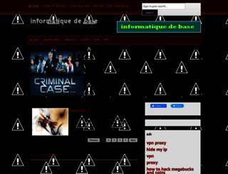 infodebase.blogspot.com screenshot