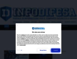 infodifesa.it screenshot