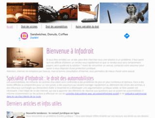 infodroit.com screenshot