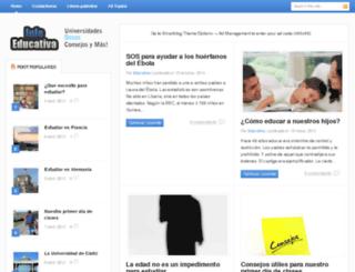 infoeducativa.net screenshot