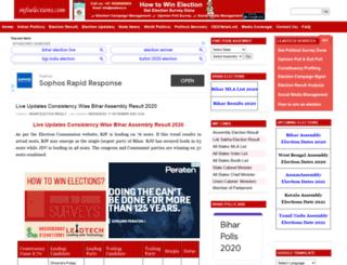 infoelection.com screenshot