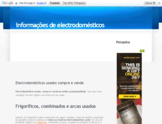 infoelectrodomesticos.com screenshot