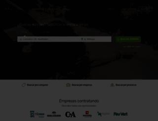 infoempleo.com screenshot