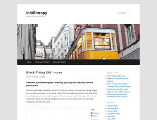 infoentropy.com screenshot