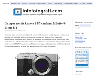 infofotografi.com screenshot