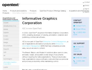 infograph.com screenshot