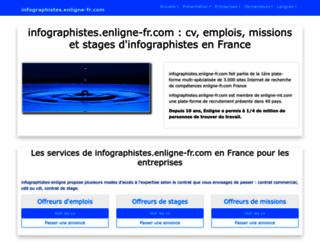 infographistes.enligne-fr.com screenshot