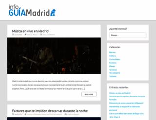 infoguiamadrid.com screenshot