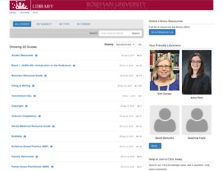 infoguides.roseman.edu screenshot