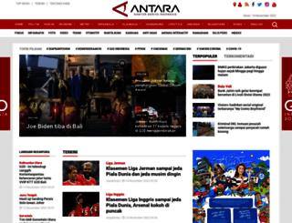 infohaji.antaranews.com screenshot