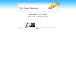 infohargakomputer.weebly.com screenshot