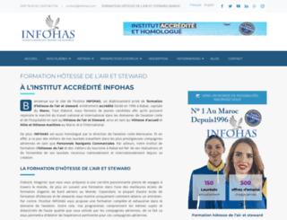 infohas.com screenshot