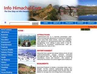 infohimachal.com screenshot