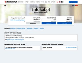 infokat.pl screenshot
