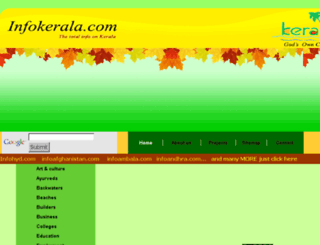 infokerala.com screenshot