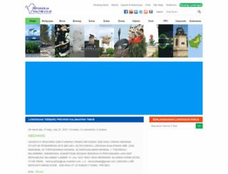 infokerjakaltim.id screenshot