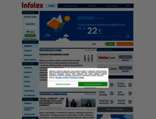 infolex.lt screenshot