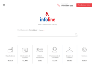 infolineindia.co.in screenshot