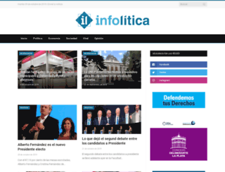 infolitica.com.ar screenshot