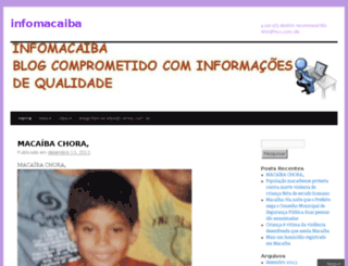 infomacaiba.wordpress.com screenshot