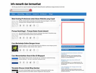 infomenarikdanbermanfaat.blogspot.com screenshot