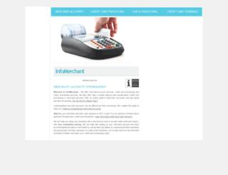 infomerchant.net screenshot