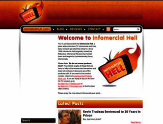 infomercial-hell.com screenshot