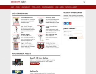 infomercial-review.org screenshot