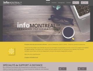 infomontreal.ca screenshot