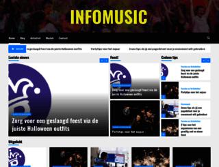 infomusic.nl screenshot