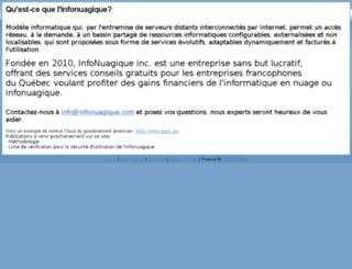 infonuagique.com screenshot